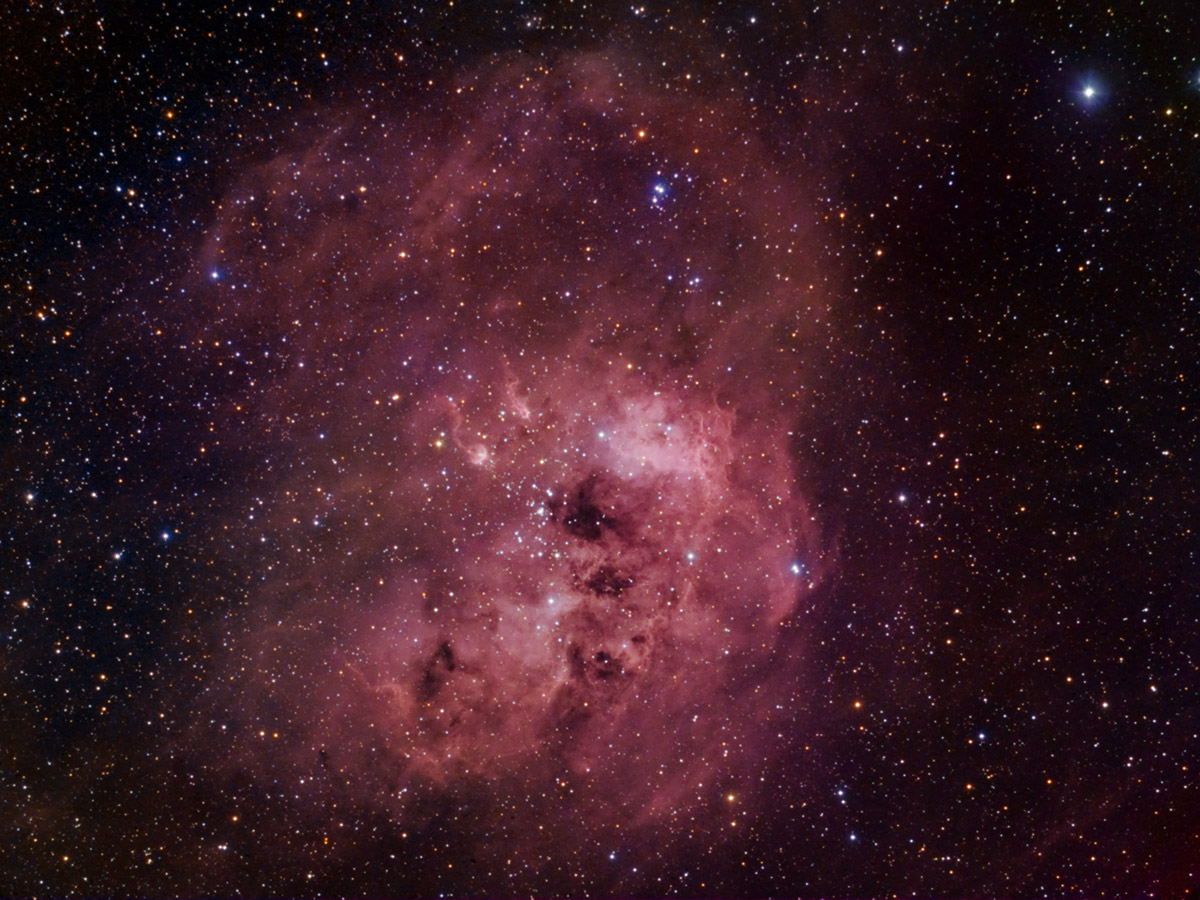 Emission Nebula IC 410
