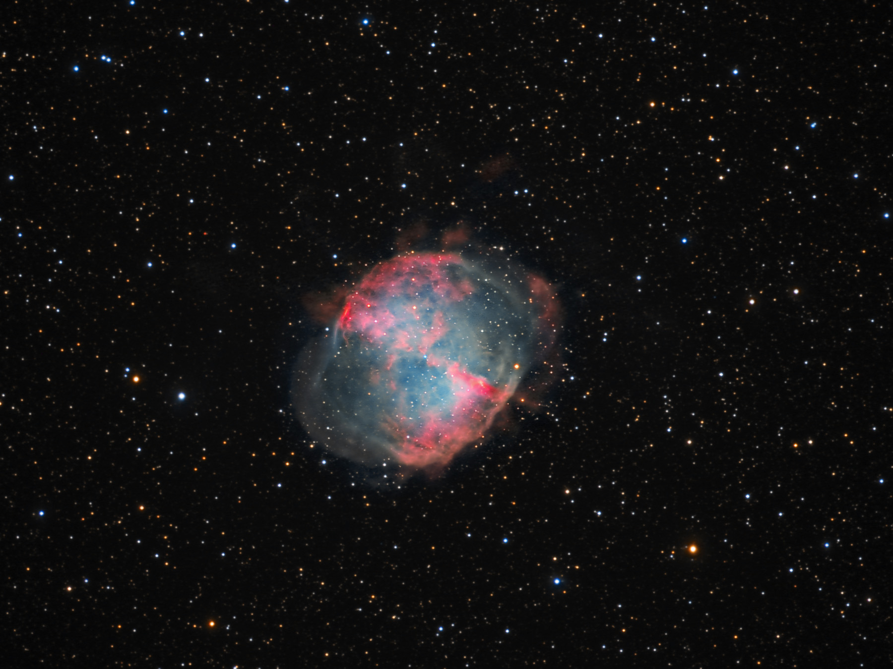 dumbbell nebula colors - photo #20
